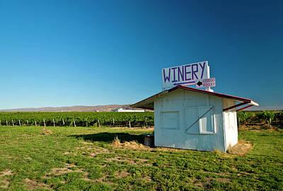 Winery Photograph - Usa, Washington, Wahluke Slope Ava by Richard Duval