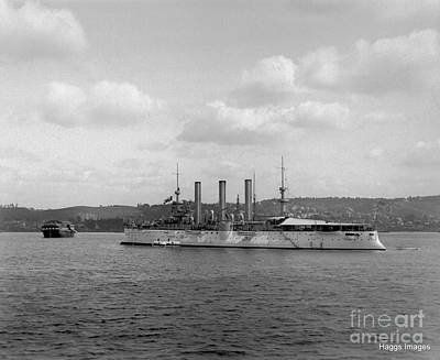 Photograph - Uss Brooklyn  by William Haggart