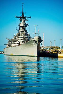 Battleship Photograph - Uss Missouri, Pearl Harbor, Honolulu by Panoramic Images