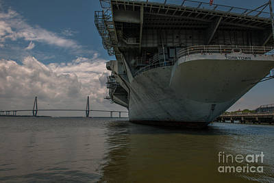 Photograph - Uss Yorktown by Dale Powell