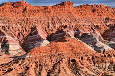 Photograph - Utah Badlands by Adam Jewell
