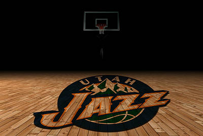 Utah Jazz Photograph - Utah Jazz by Joe Hamilton