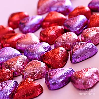 Photograph - Valentine Hearts by Elena Elisseeva
