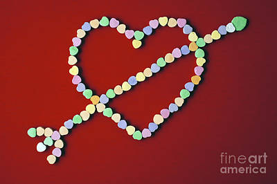 Photograph - Valentines Day Candies by Jim Corwin