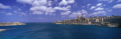 Valletta Photograph - Valletta Malta by Panoramic Images