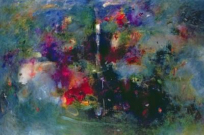 Valley Of The Waterfalls Print by Jane Deakin