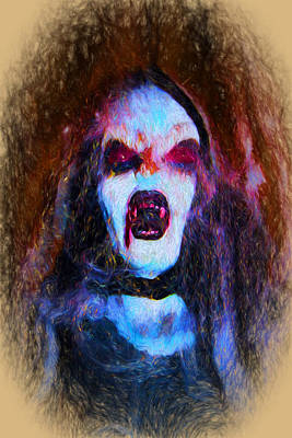 Digital Art - Vamp by Terry Cork