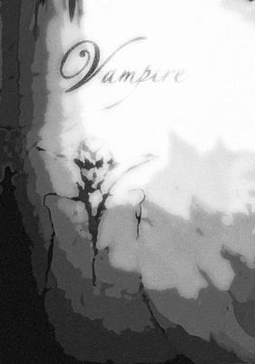 Dracula Digital Art - Vampire Special Edition by Jazzboy