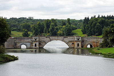 Photograph - Vanbrugh's Grand Bridge by Tony Murtagh