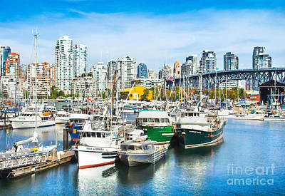 Photograph - Vancouver by JR Photography