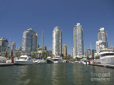 Photograph - Vancouver Skyline by Brenda Kean