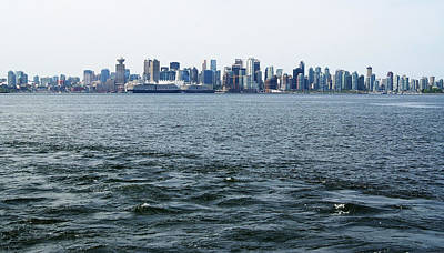 Photograph - Vancouver Skyline by Devinder Sangha