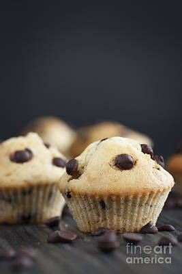 Vanilla Muffins Print by Mythja  Photography
