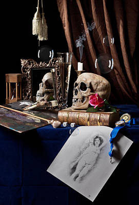 Photograph - Vanitas - About The Art Of Painting by Levin Rodriguez