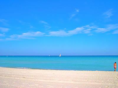 Varadero. The Beach.  Original by Andy Za