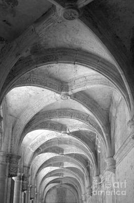 Photograph - Vaulted Passageway Oaxaca Mexico by John  Mitchell