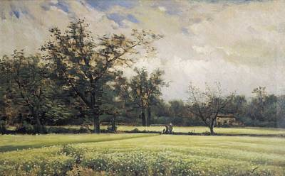Realistic Photograph - Vayreda I Vila, Joaquim 1843-1894 by Everett