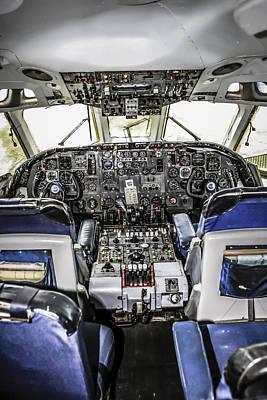 Vc10 Cockpit Original by Chris Smith
