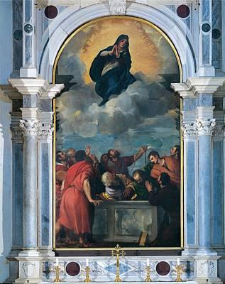 Vecellio Tiziano Known As Titian Art Print by Everett