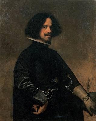 Self-portrait Photograph - Vel Zquez Diego Rodr Guez De Silva Y by Everett