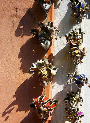 Photograph - Venetian Masks  by Irina Sztukowski