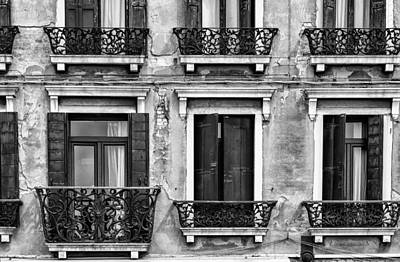 Venetian Windows Art Print