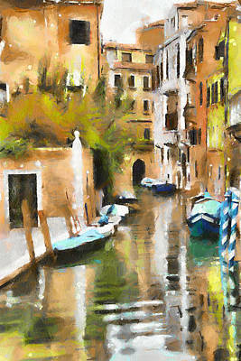 Venice Canals 7 Art Print by Yury Malkov