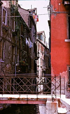 Art Print featuring the photograph Venice by Ira Shander