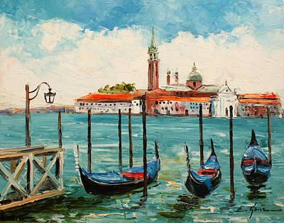 Painting - Venice - San Giorgio Maggiore by Luke Karcz