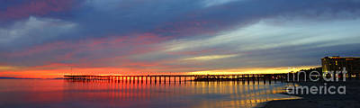 Photograph - Ventura Pier At Sunset by Dan Friend