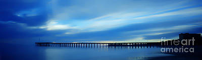 Photograph - Ventura Pier Blue  by Dan Friend