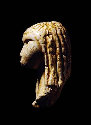 Stone Figurine Photograph - Venus Of Brassempouy, Stone Age by Science Photo Library
