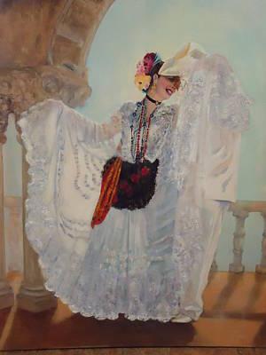 Painting - Veracruzana by Luz Perez