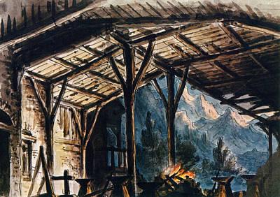 Painting - Verdi Il Trovatore by Granger