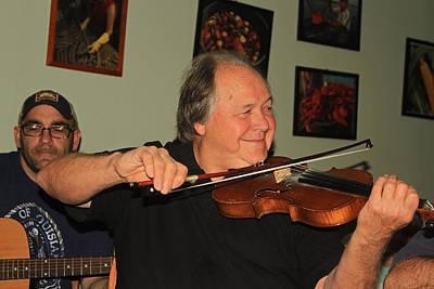 Photograph - Vermillionville Lafayette Louisiana Cajun Music by Ronald Olivier