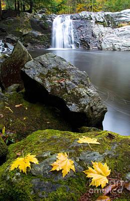 Vermont Waterfall Art Print