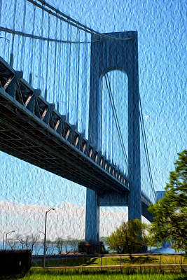 Verrazano Bridge Art Print