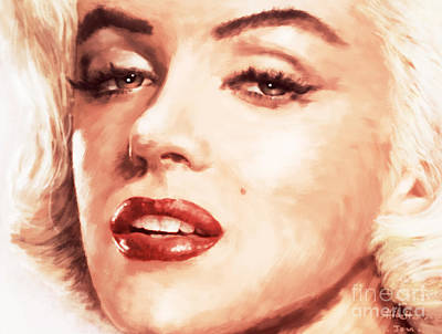 1950s Movies Painting - Very Beautiful by Atiketta Sangasaeng