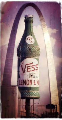 Photograph - Vess The Billion Bubble Beverage by Garry McMichael