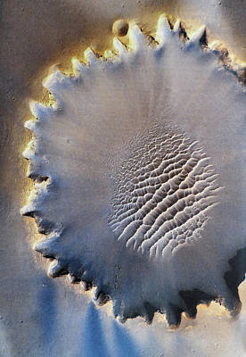 Victoria Crater Art Print by Patricia Januszkiewicz