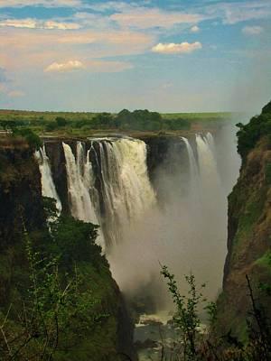 Victoria Falls Photograph - Victoria Falls by Charles Ray
