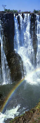 Victoria Falls Photograph - Victoria Falls Zimbabwe Africa by Panoramic Images