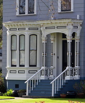 Photograph - Victorian Home In Napa Valley by Dean Ferreira