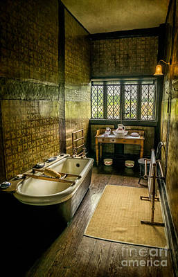Victorian Wash Room Art Print by Adrian Evans