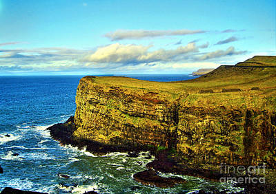 Photograph - View From Dunluce Castle by Nina Ficur Feenan