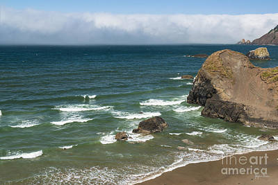 View From Ecola Point Art Print