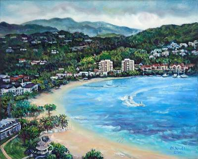 Painting - View From Jamaica Grand 2 by Ewan  McAnuff