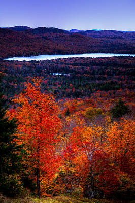 Photograph - View From Mccauley Mountain II by David Patterson