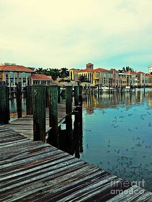 Photograph - View From The Boardwalk  by K Simmons Luna