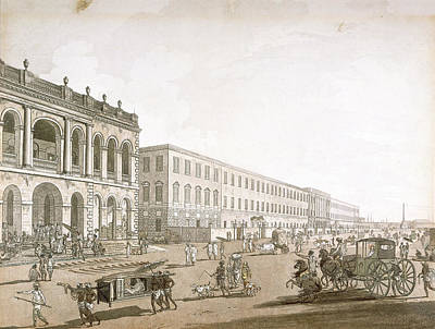 Court House Photograph - View Of Calcutta by British Library